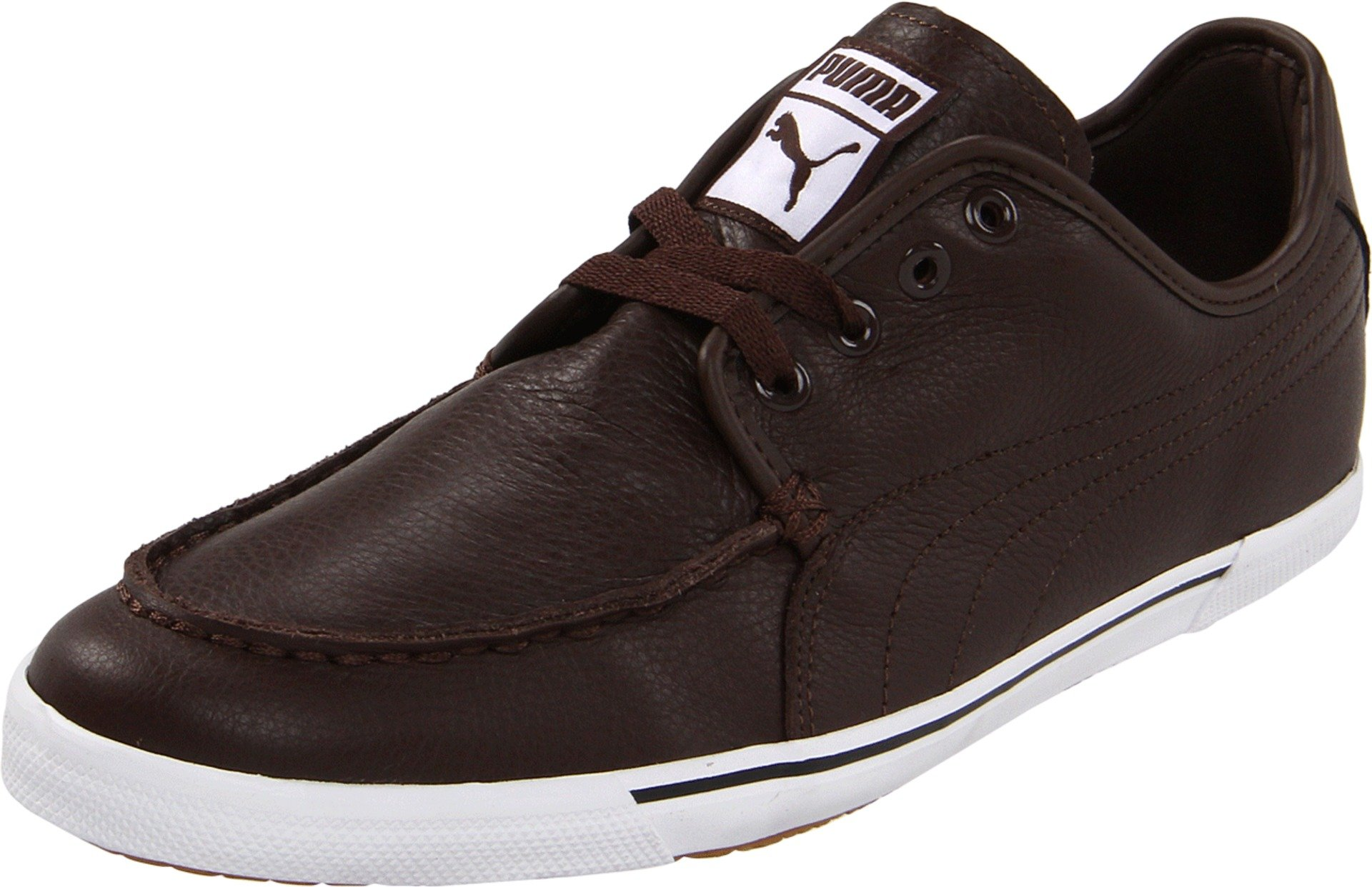 PUMA Benecio Lace-Up Fashion Sneaker,Chocolate Brown,10.5 D US