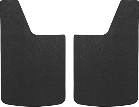 LUVERNE 251014 Universal Black 14-Inch x 23-Inch Textured Rubber Mud Guards