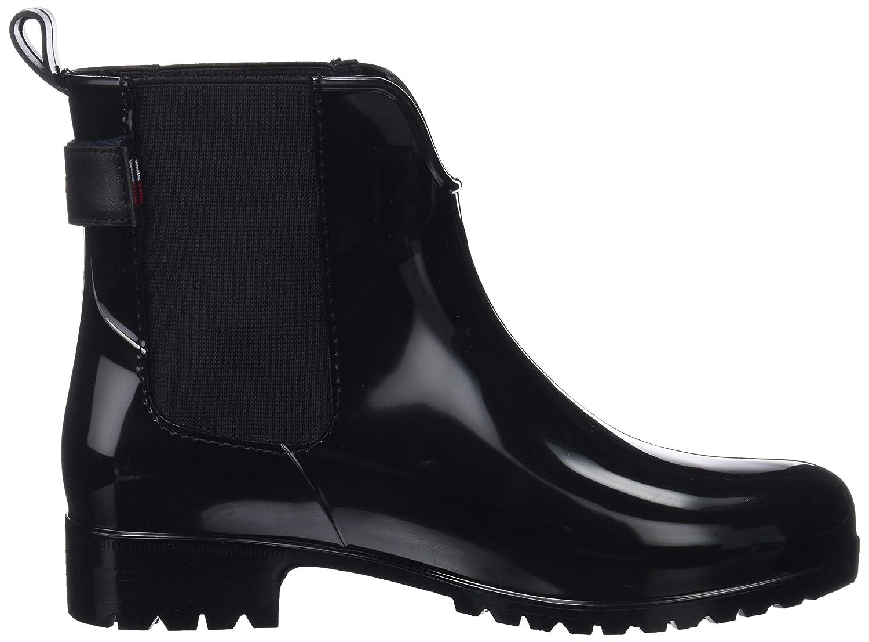 Kickers Stiefel, Damen Happli Kurzschaft Stiefel, Kickers schwarz Rot (Bordeaux 18) 330ca1