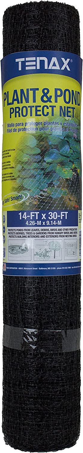Tenax 2A140180 Pond and Plant Protect Net, 14 by 30-Feet, 14 x 30 , White