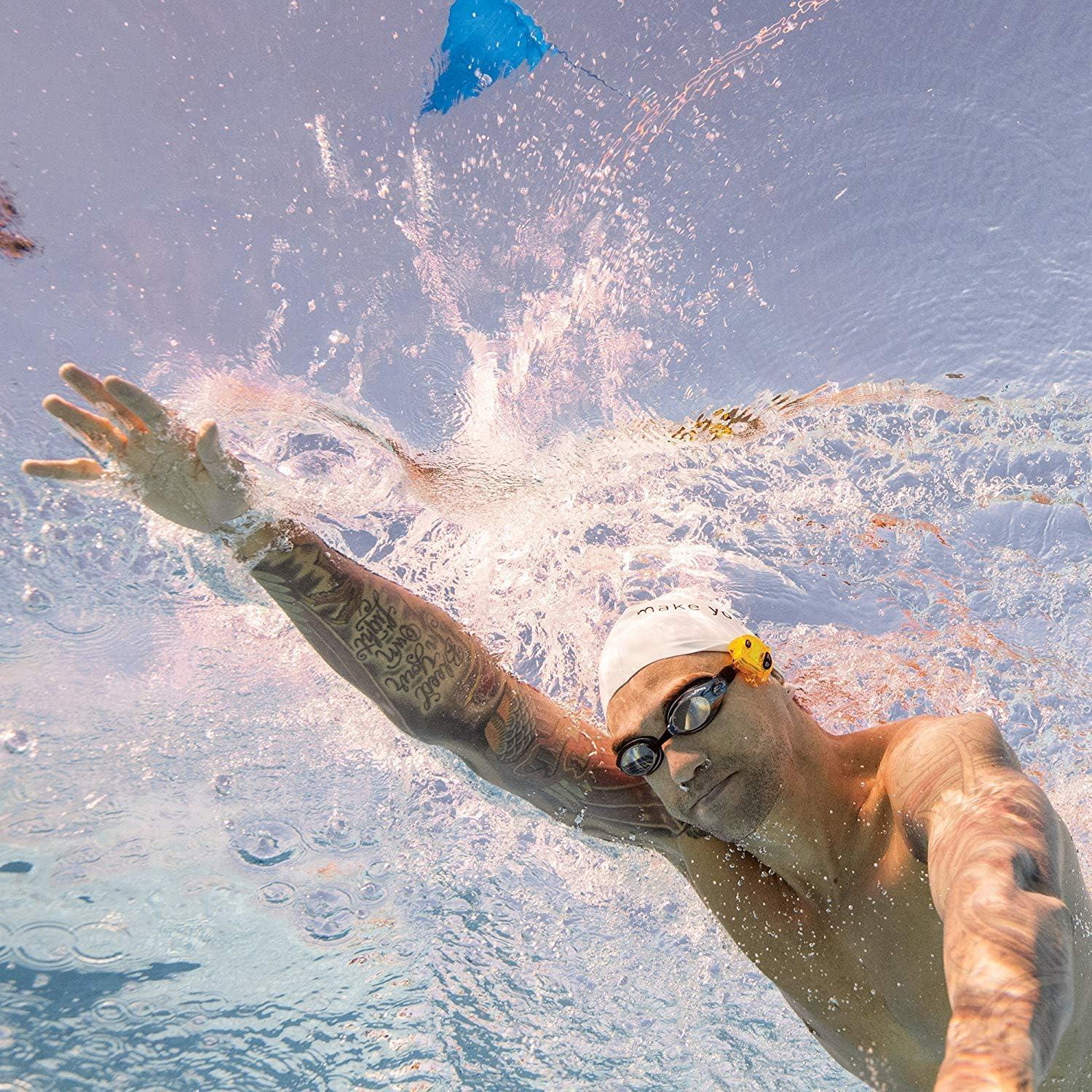 Finis Erweiterte Akustische Metronom Zum Schwimmen Tempo Trainer Pro Cronómetro de natación, Unisex, Amarillo, Small: Amazon.es: Deportes y aire libre