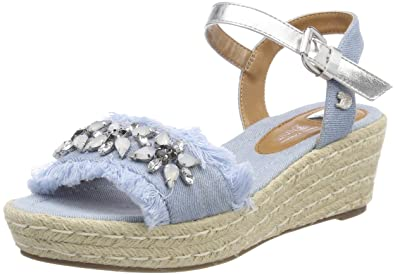 Sandales Bout Ouvert Femme Musse /& Cloud Bluebell