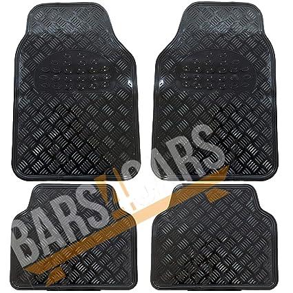 Universal Rubber PVC Car Mats Extra Heavy Duty 4 fits  Citreon C1 C2 C3 C5 C6