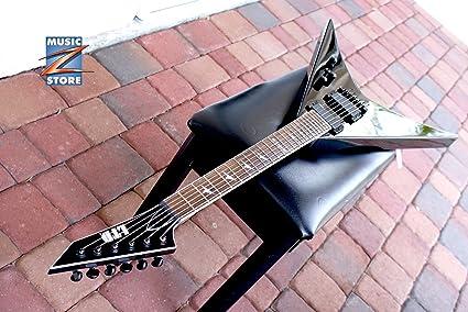 Esp Ltd v-401b barítono cuerpo en forma de V para guitarra eléctrica Negro Marca Nuevo.: Amazon.es: Instrumentos musicales