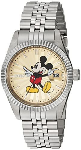 75fedad1777 Image Unavailable. Image not available for. Colour  Invicta 22774 Disney  Limited Edition - Mickey Mouse Women s Wrist Watch Stainless Steel ...