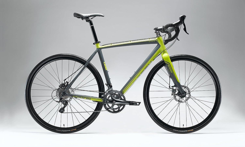 Sourcingmap Racing Bicycle 18 Spoke Holes Front Wheel Hub Silver Tone
