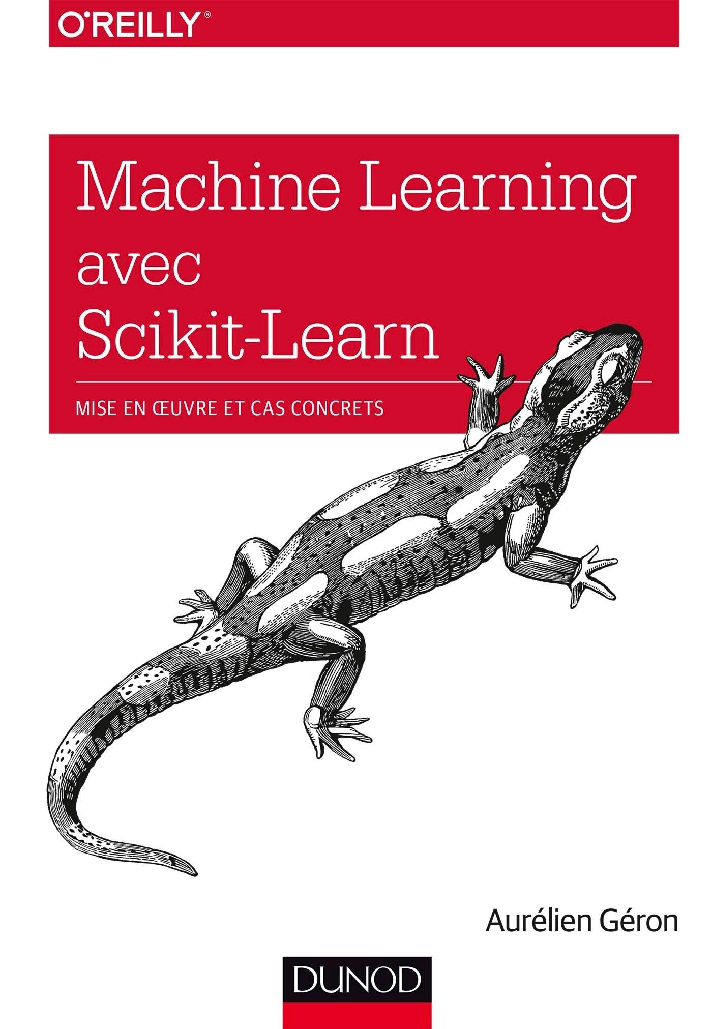 Ressources en francais : livre Machine Learning avec Scikit-Learn par Aurlélien Géron