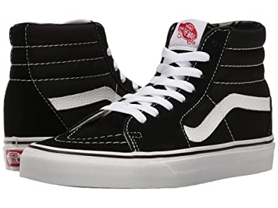 vans sk8 hi black amazon