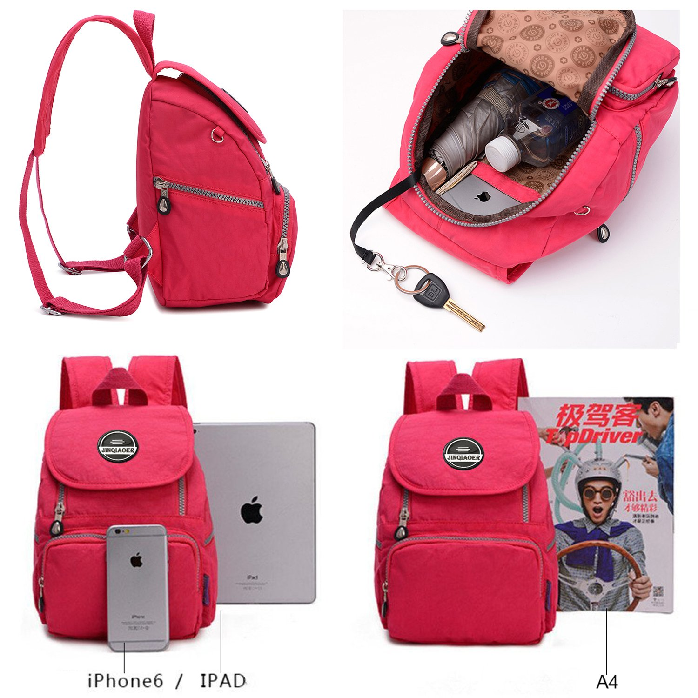 d54534186b35 LifeWheel Womens girls Waterproof Mini Backpack Nylon Bags Daypacks  Schoolbag Rucksacks  Amazon.co.uk  Luggage