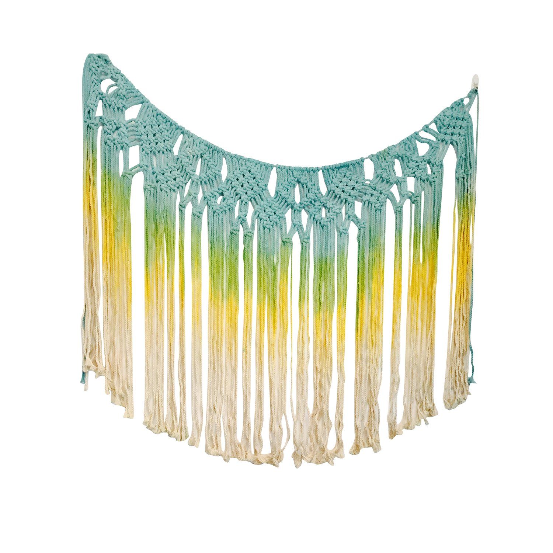 Amazon.com: Boho Decor Macrame Wall Hanging Tassel Tapestry for ...