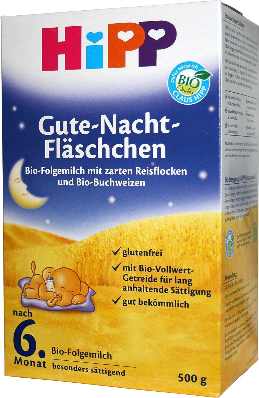 Hipp organiques flacons Bonne nuit aprè s 6 mois, 500g Hipp GmbH & Co. Vertrieb KG
