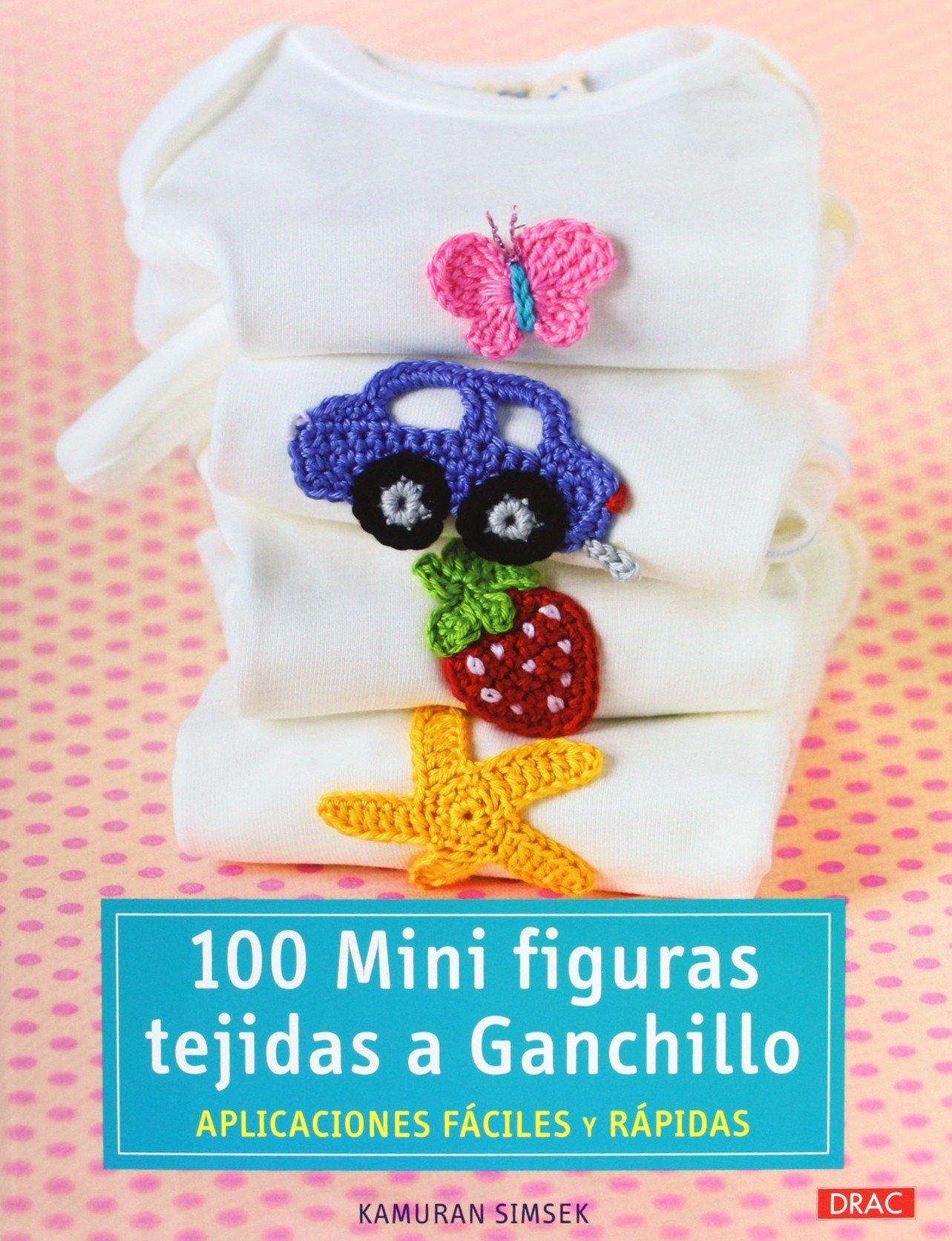 100 Mini Figuras Tejidas A Ganchillo Cp - Serie Ganchillo ...