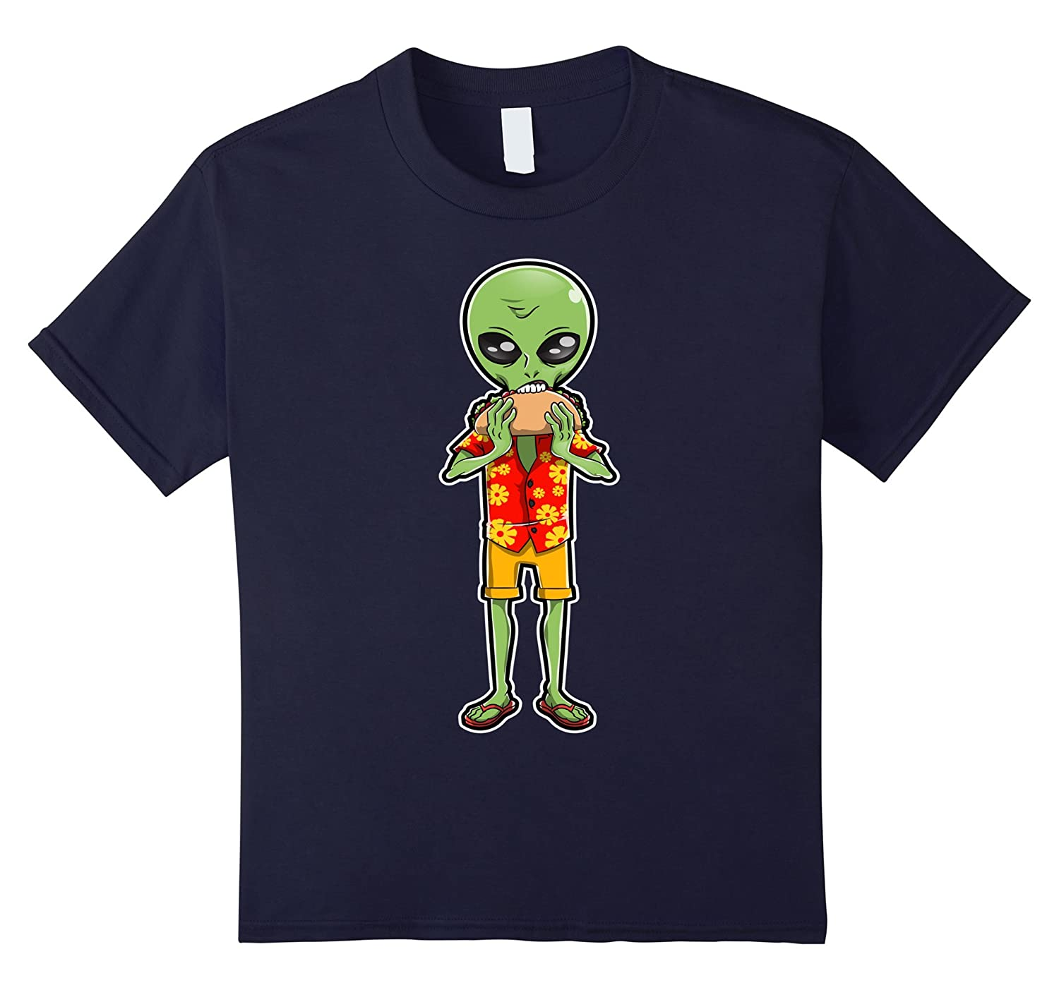 Alien Eating Shirt funny Heather-Awarplus
