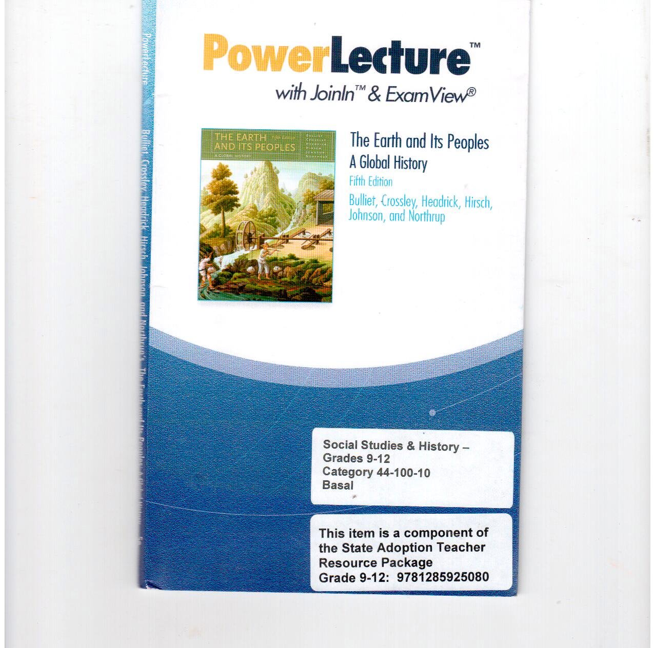 Power Lecture with Joinln & Examview: The Earth and Its Peoples a Global History, 5th Edition pdf epub