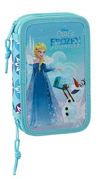 Disney SAFTA Estuche Frozen Oficial Escolar Incluye 28 ...