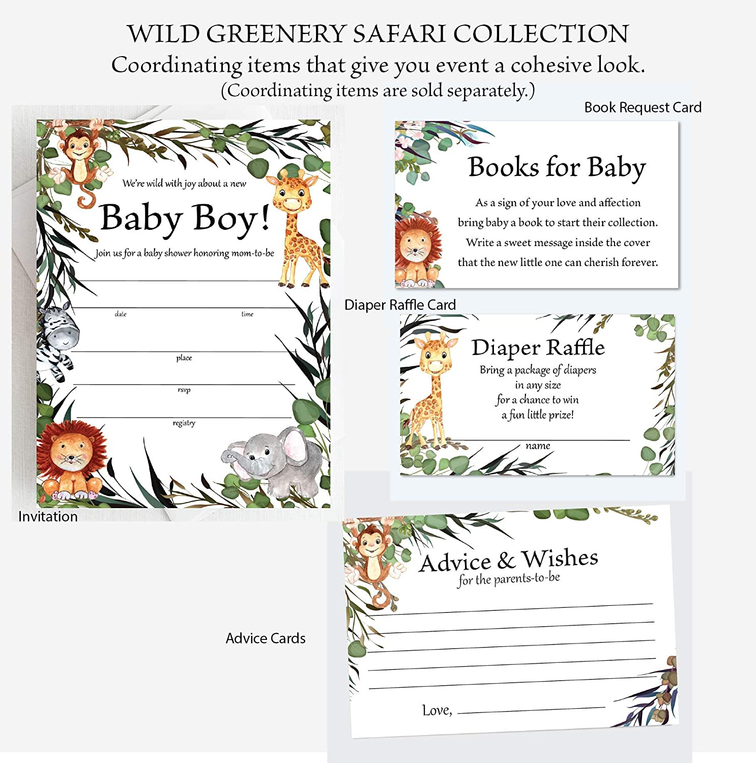 Words of Wisdom Baby Shower New Parents,yv856 Safari Baby Shower Advice Cards Baby Shower Games Printable Advice for Parents To Be