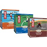 CLIF BARS - Energy Bars – Care Package - Chocolate Chip and Crunchy Peanut Butter - Plant Based - Made with Organic Oats (2.4