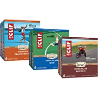 CLIF BARS - Energy Bars – Care Package - Chocolate Chip and Crunchy Peanut Butter - Plant Based - Made with Organic Oats…