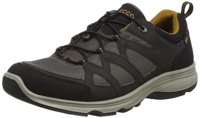 Ecco Espresso Men's Light Walking Color Black Boots Iv