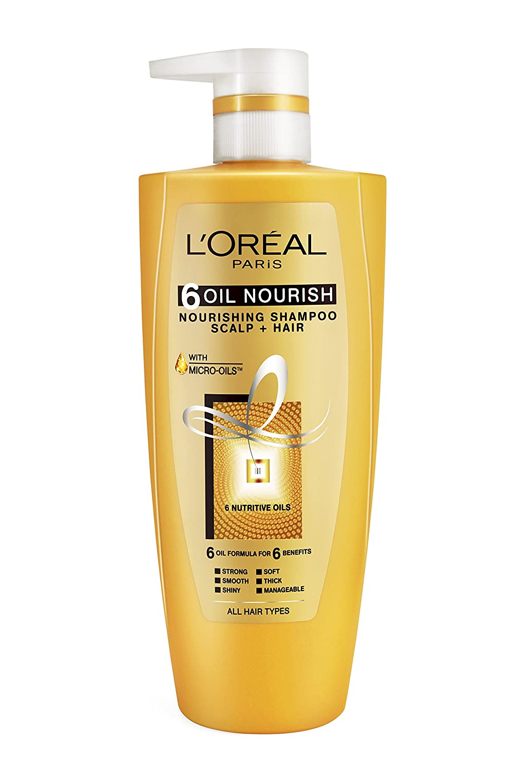 Buy Loreal Paris Hex 6 Oil Shampoo 640ml 64ml Free Online At Low Fall Repair Prices In India