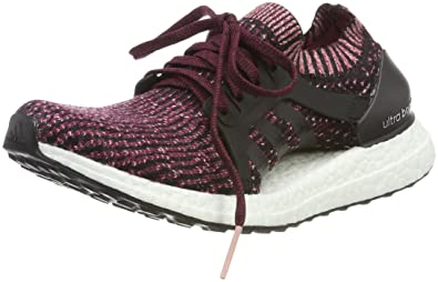 best website d4697 f24ba adidas Ultraboost X Chaussures de Gymnastique Femme, Noir Core Black Mystery  Ruby F17,