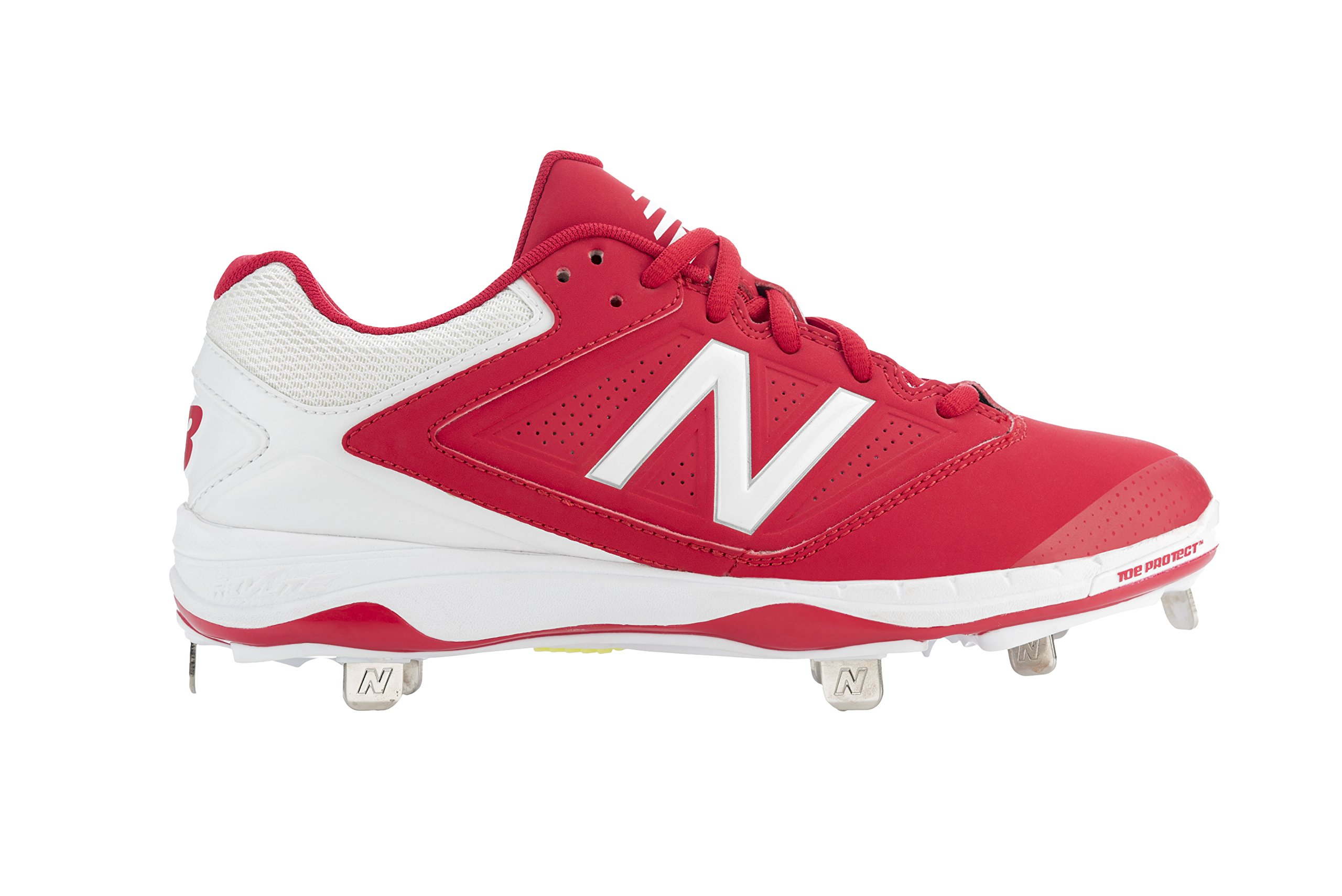 New Balance Women's SM4040R1, Red/White, 7.5 B US