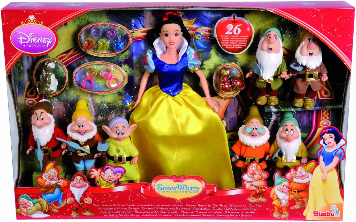 Amazon.es: Simba Disney Princess 5765622 - Figuras de Blancanieves ...