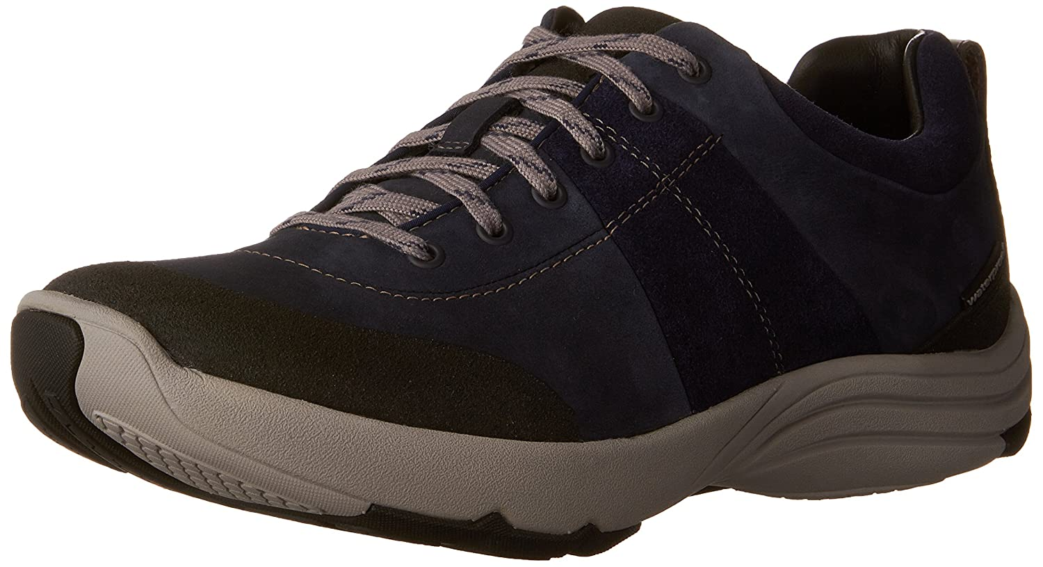 Navy Nubuck Clarks Womens Wave Andes Walking shoes