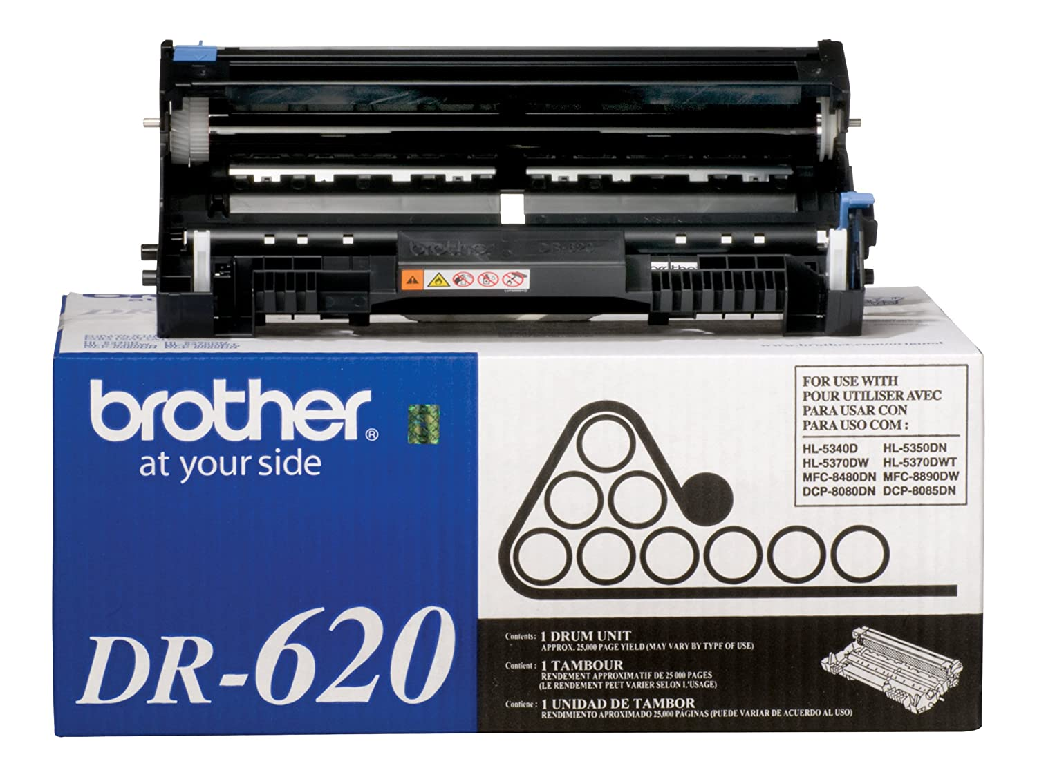 Brother TN-650 High Yield Toner Cartridge TN650