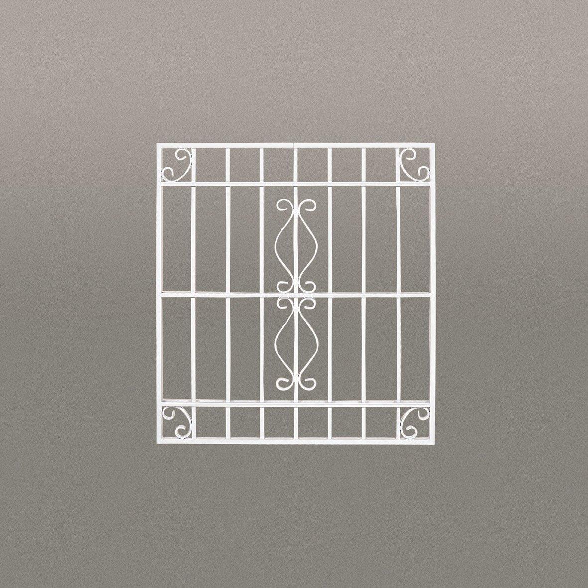 LLS ロートアルミ 装飾面格子 RAM01‐1009 1020*900 ホワイト B071F21QN8 28840  ホワイト