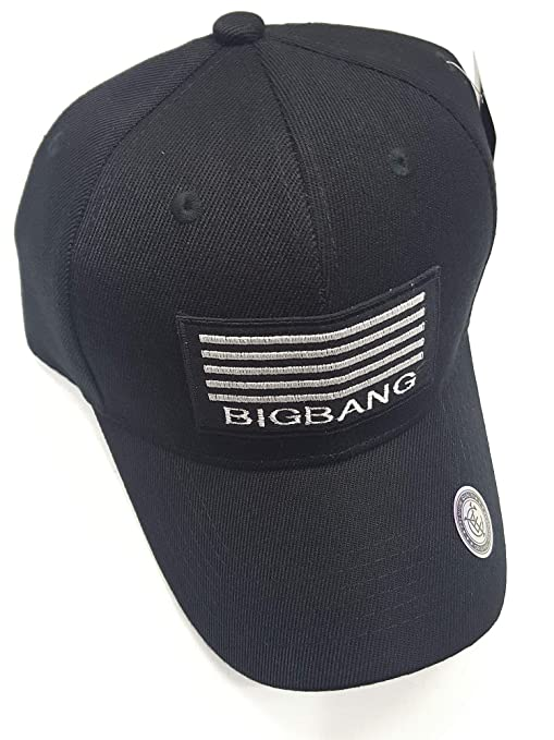 4e6cf8790ae Image Unavailable. Image not available for. Color  Kpin Big Bang Classic  Polo Style Baseball Cap All Cotton Made Adjustable Fits Men Women Low