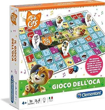 Clementoni - Juego de Mesa de 44 Gatos, Multicolor, 16180: Amazon.es: Juguetes y juegos