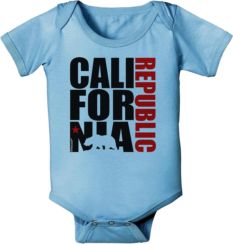 Love California Republic Unisex-Baby Newborn Short-Sleeve Bodysuit Rompers