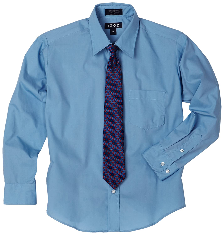 Izod boys Big Boys Shirt and Tie Set Izod Children's Apparel Z873009