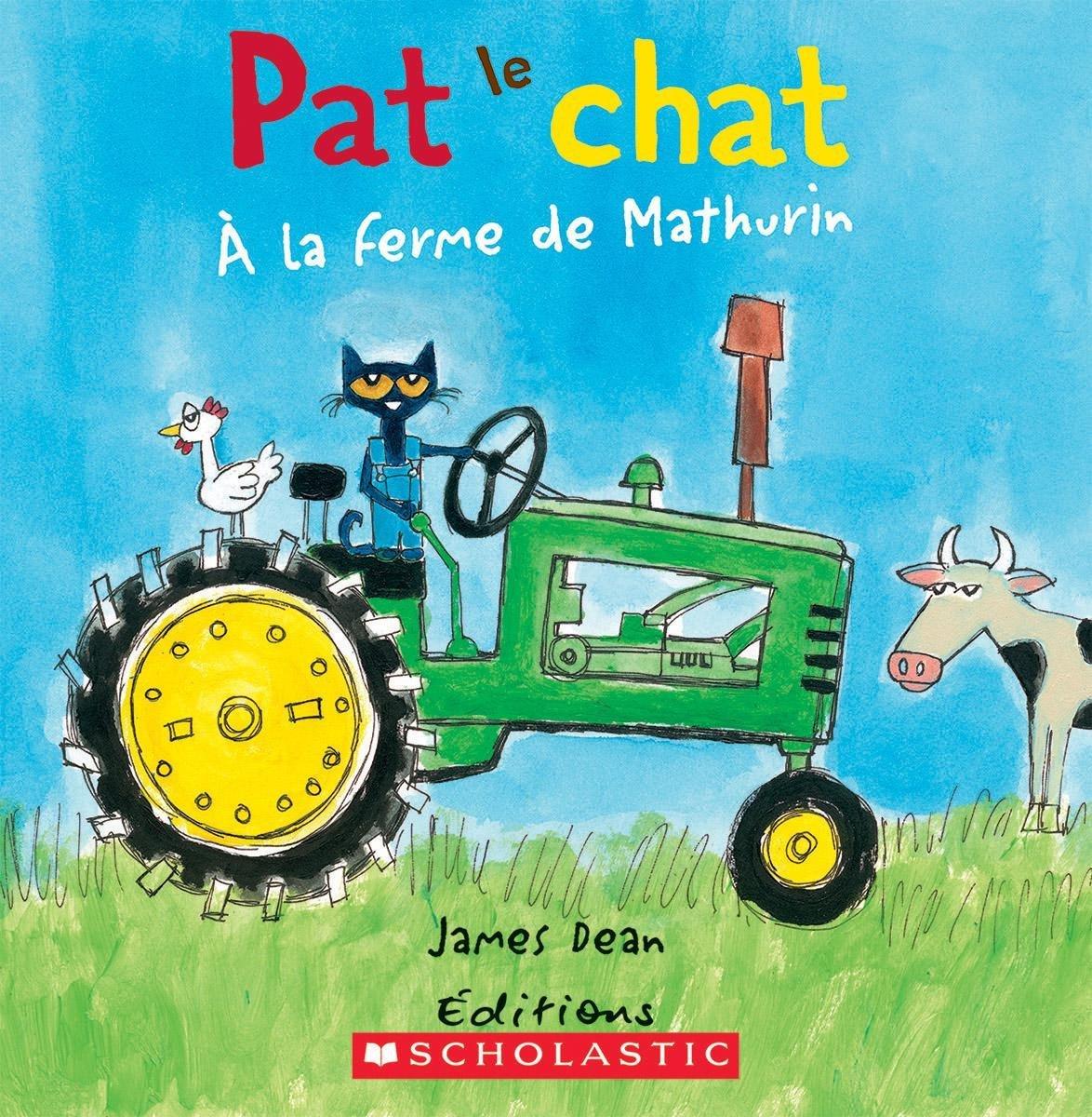 Amazon.com: Pat Le Chat: ? La Ferme de Mathurin (French ...