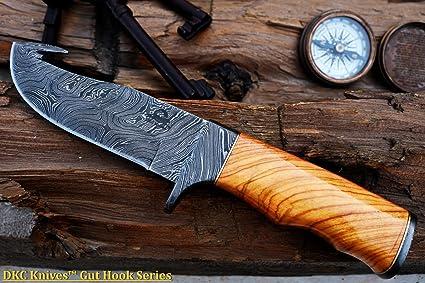 Amazon.com: DKC-577-GH-DS Rattler - Cuchillo de caza de ...
