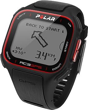 Polar RC3 GPS (sin HRM) - Reloj con pulsómetro y GPS integrado (sensor de ritmo cardiaco no incluido), compatible con sensor de zancada, de cadencia y de velocidad para running y ciclismo (