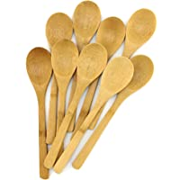 BambooMN Brand - Solid Bamboo Deluxe Dinner Spoon - 10 pcs