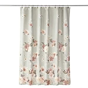 SKL HOME by Saturday Knight Ltd. Holland Floral Shower Curtain, Sage