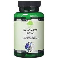 G&G Vitamins 50 mg Manganese Capsules