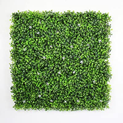 ULand Hedge Plant Sound Diffuser Privacy Fence Screen Greenery Wall Covers