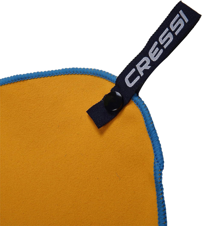 Serviette de Sport en Microfibre Premium Noir Cressi Fast Drying 50 x 100 cm