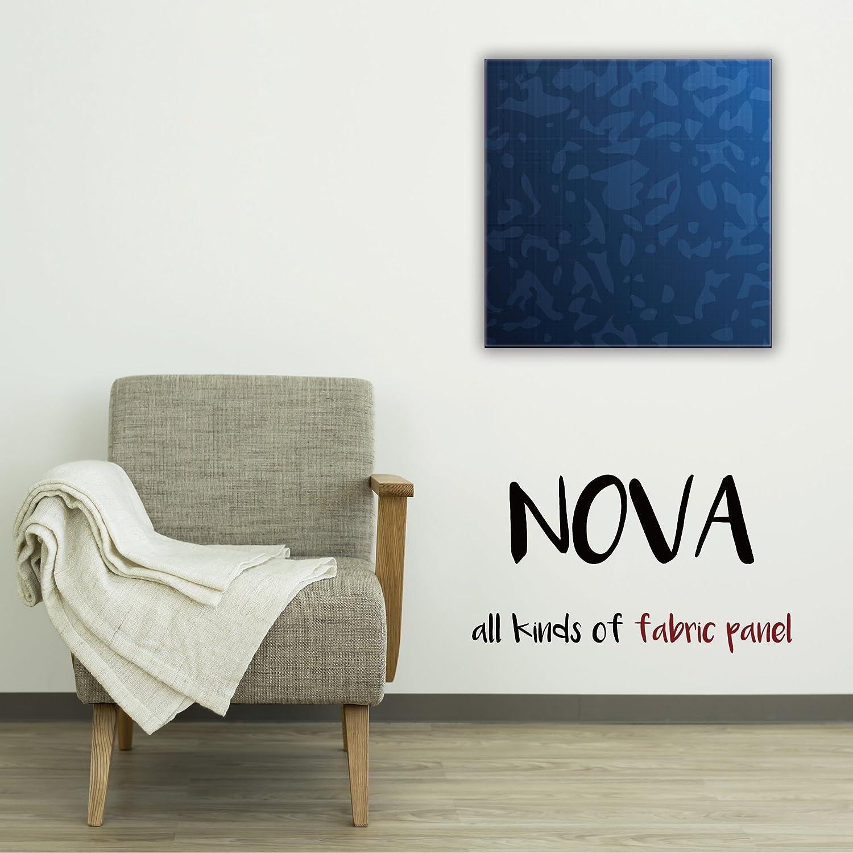 ファブリックパネル NOVA 【 Mサイズ 45cm×45cm 】 海 ブルー sea 青い 青色 深海 水 ウォーター 空 雲 フレーム 人気 壁掛け DIY インテリア オシャレ 木製 布 生地 プリント ウォール デコ B01N7OYRIS Mサイズ : 45cm×45cm|COLOR8 COLOR8 Mサイズ : 45cm×45cm