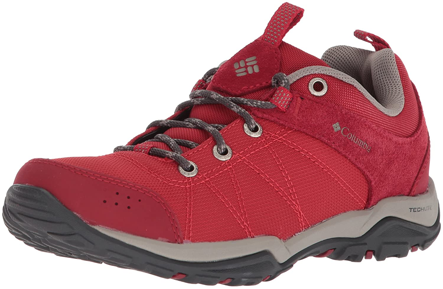 Columbia Women's Fire Venture Textile Hiking Boot B073RN5579 6 B(M) US Mountain Red, Kettle