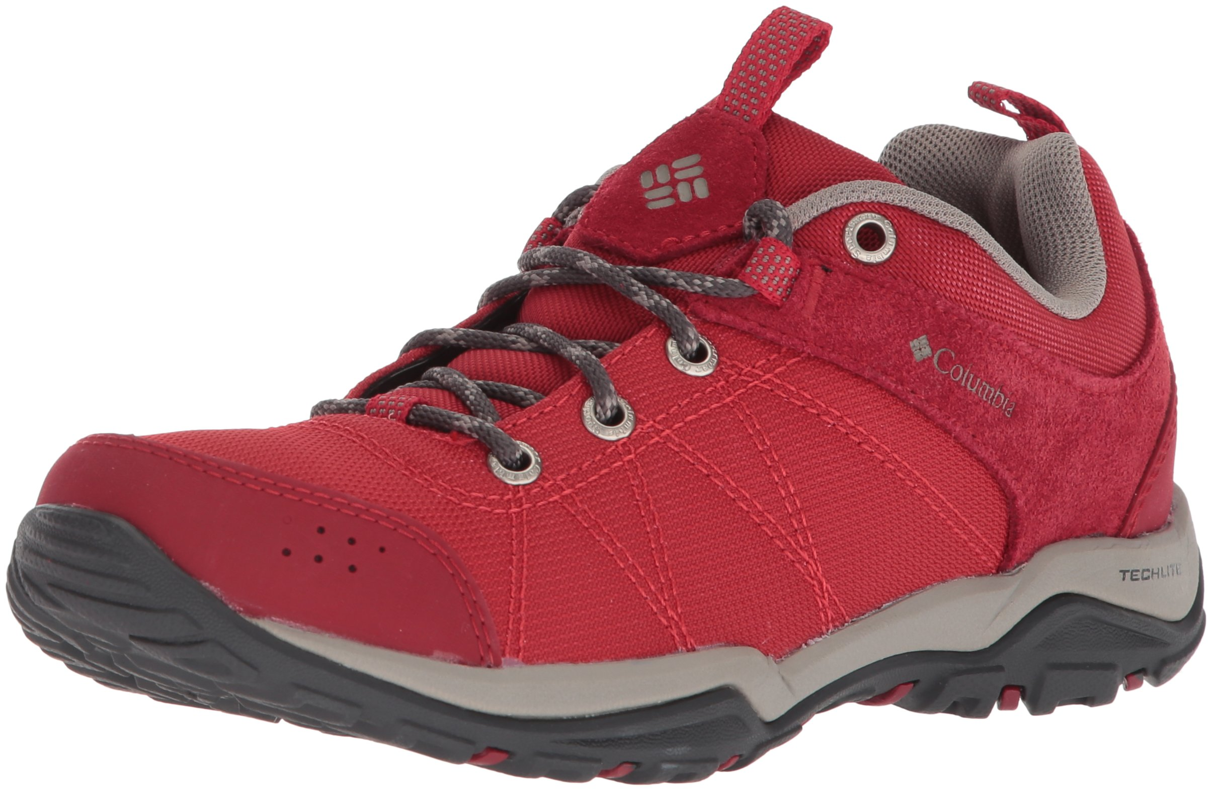 Columbia Women's Fire Venture Textile Hiking Boot, Mountain Red, Kettle, 9.5 Regular US