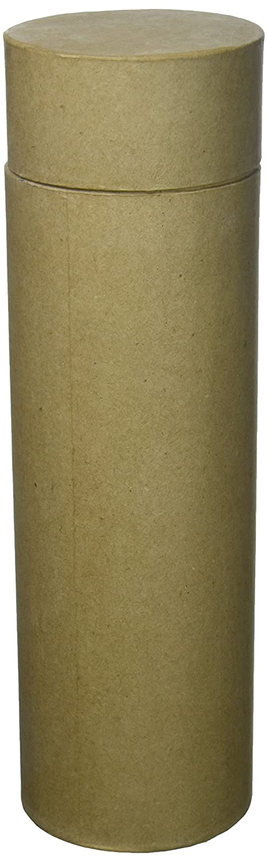 Craft Ped Paper CPL1002177 Mache Box 4x13 Round Wine Kraft