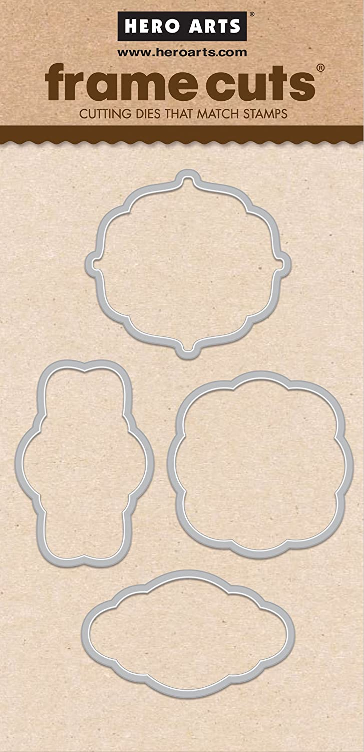 Hero Arts DI318 Holiday Tags Frame Cuts Card Making Kit