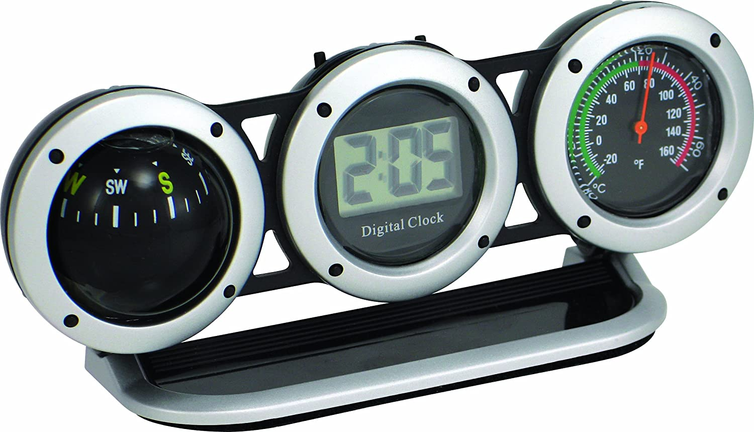 Amazon.com: Bell Automotive 22-1-29015-8 Combo Clock, Compass and Thermometer: Automotive
