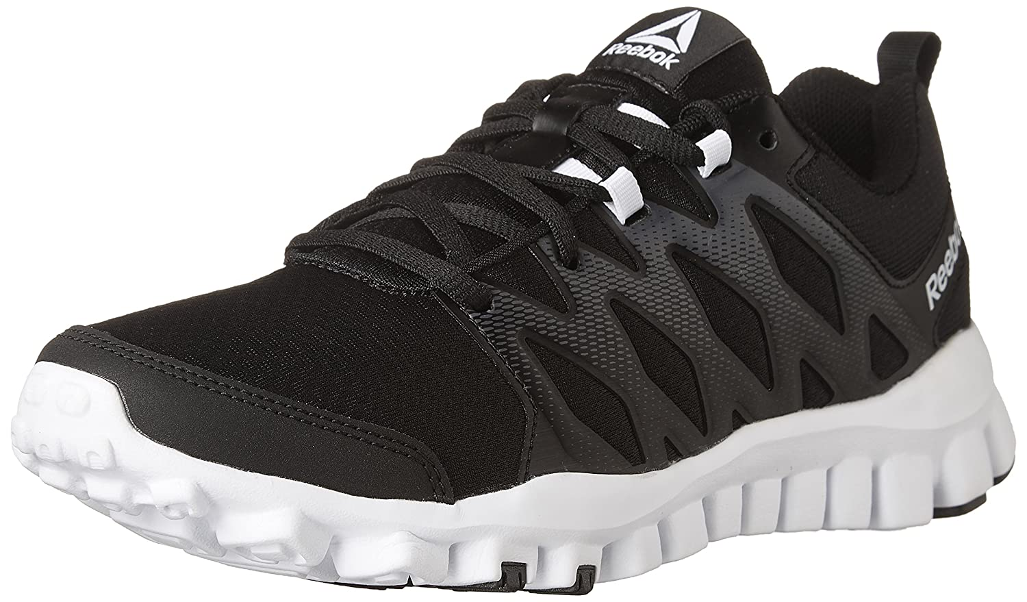 Reebok Women's Realflex Train 4.0 Cross-Trainer Shoe B071FX4S8X 5 M US|Black
