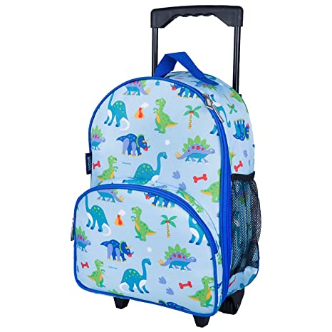 93734eb3170d Amazon.com  Wildkin Rolling Luggage